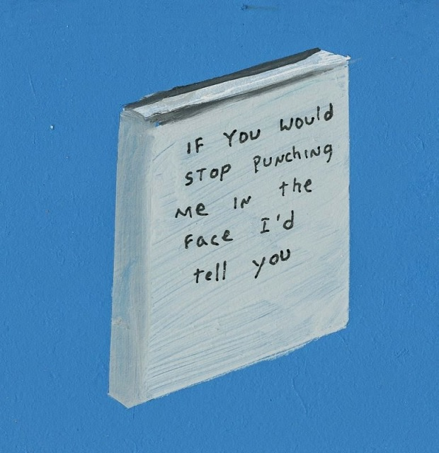 if you would stop punching